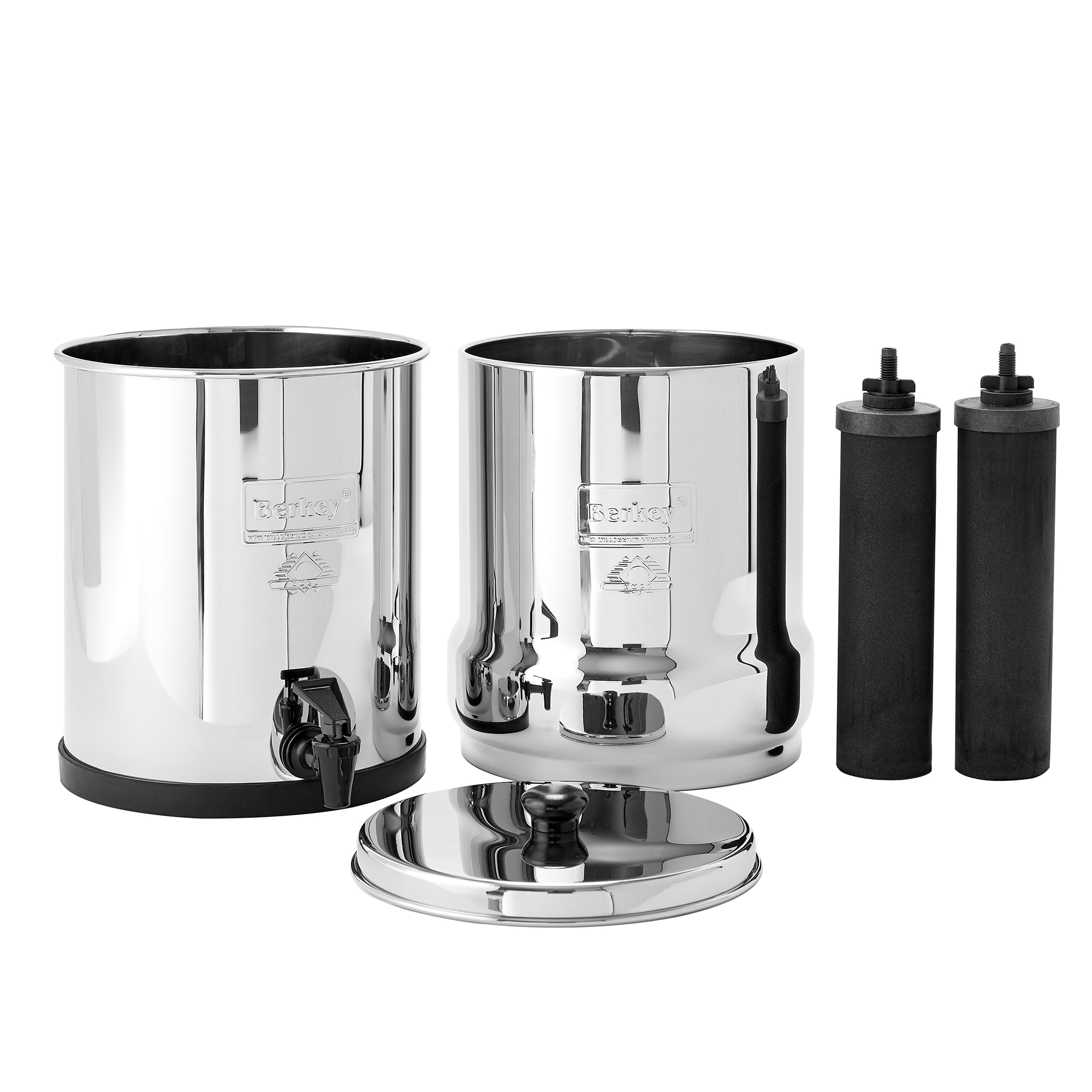 Kit Familial Big Berkey (Big + seau + robinet inox )