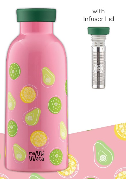 Bouteille Isotherme FRUITS  Mama Wata (avec infuseur)