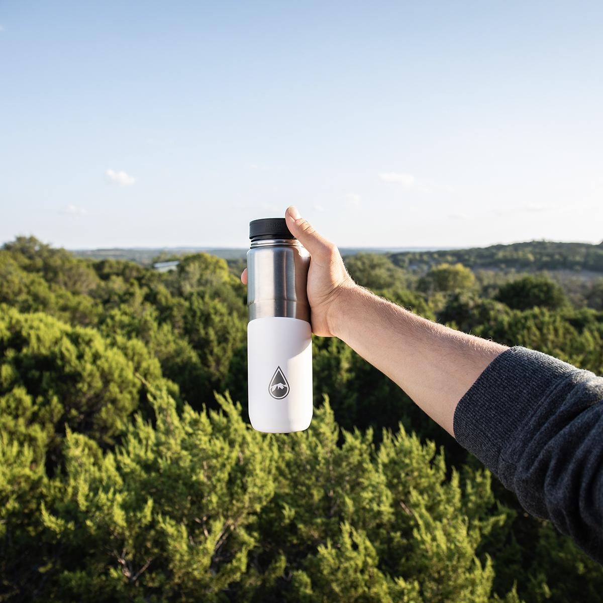 Bouteille Berkey Lookout  Blanc isotherme