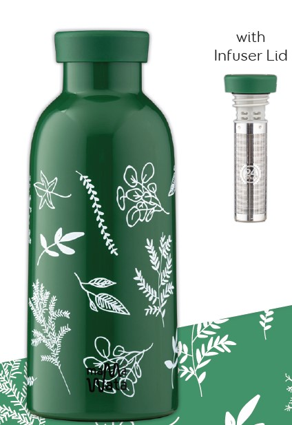 Bouteille Isotherme HERBS  Mama Wata (avec infuseur)